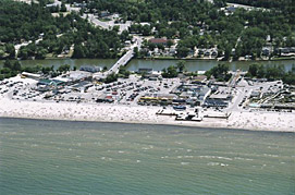 Aerial View of Wasaga Beach